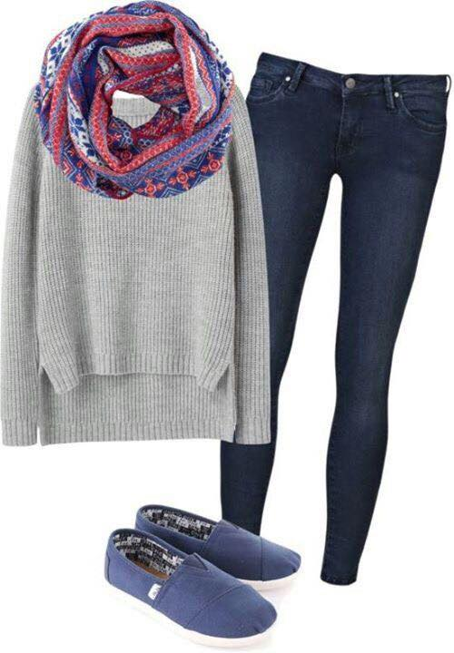 cute-outfits-for-teens 17 Latest Style Winter Outfit Combinations for Teen Girls