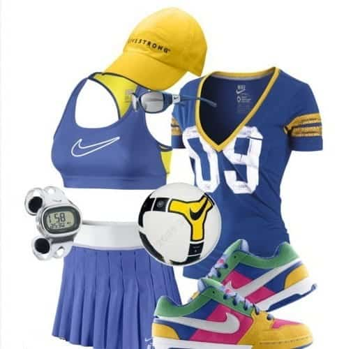 funky-nike-outfits-women 15 Cool Summer Sports /Workout Outfits For Women