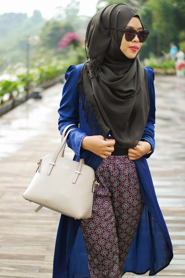 most-stylish-muslim-girls 18 Cute Ways to Tie Hijab with Different Outfits