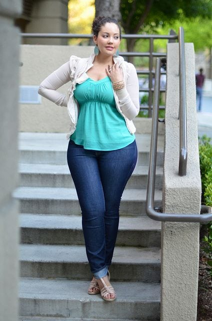 p6 27 Stunning Spring Outfits Ideas for Plus Size Ladies