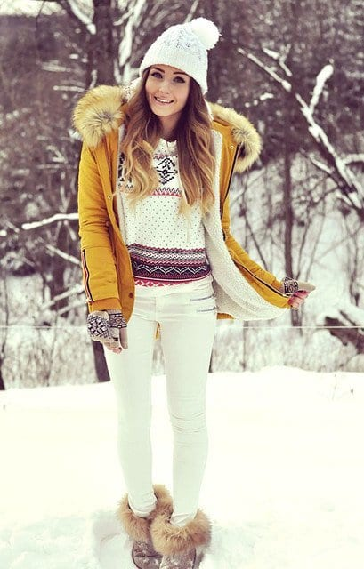 rosewe-white-sheinside-dark-bluelook-main-single 17 Latest Style Winter Outfit Combinations for Teen Girls