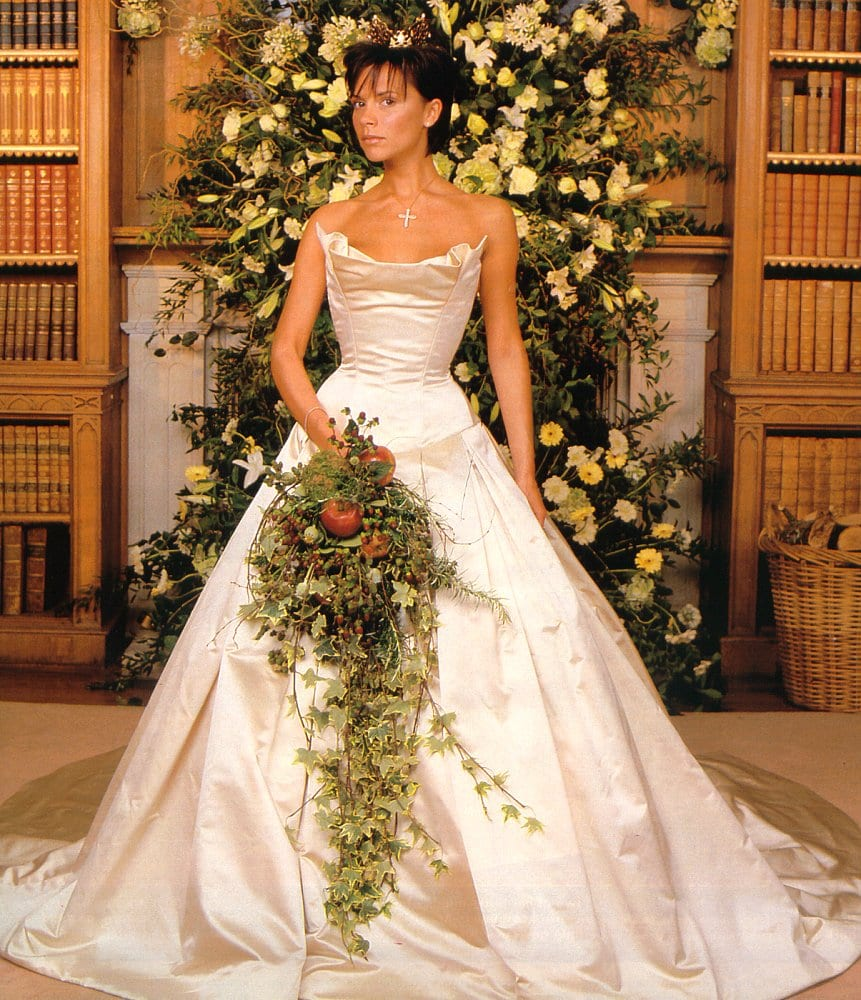 victoria 10 Celebrities Who Wore World Most Expensive Wedding Dresses
