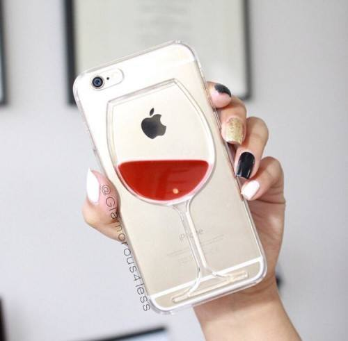 wine-glass-mobile-charger-500x491 20 Cute Branded Mobile Cases And Accessories For Teen Girls