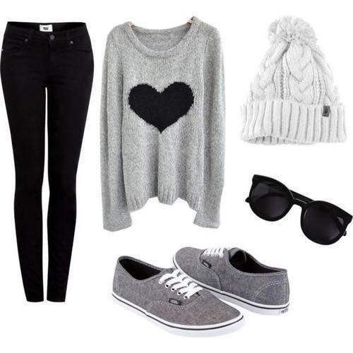 winter-outfits-young-girls 17 Latest Style Winter Outfit Combinations for Teen Girls