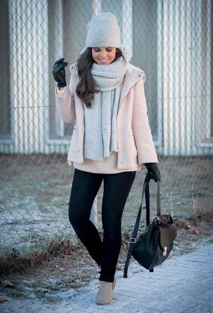 zara-pink-coats-sweaterslook-main-single 17 Latest Style Winter Outfit Combinations for Teen Girls