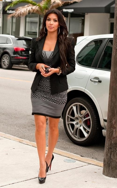 21 30 Most Stylish Kim kardashian's Outfits Rocking Social Media