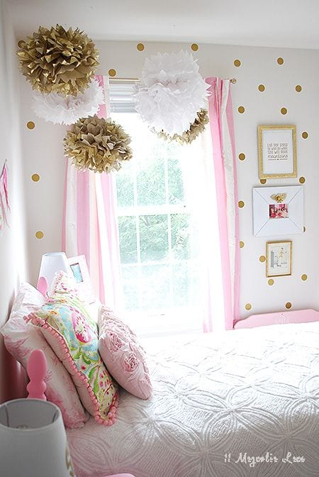 2d01123de191a8c3bd23b4912221d858 18 Cute Pink Bedroom Ideas for Teen Girls - DIY Decoration Tips