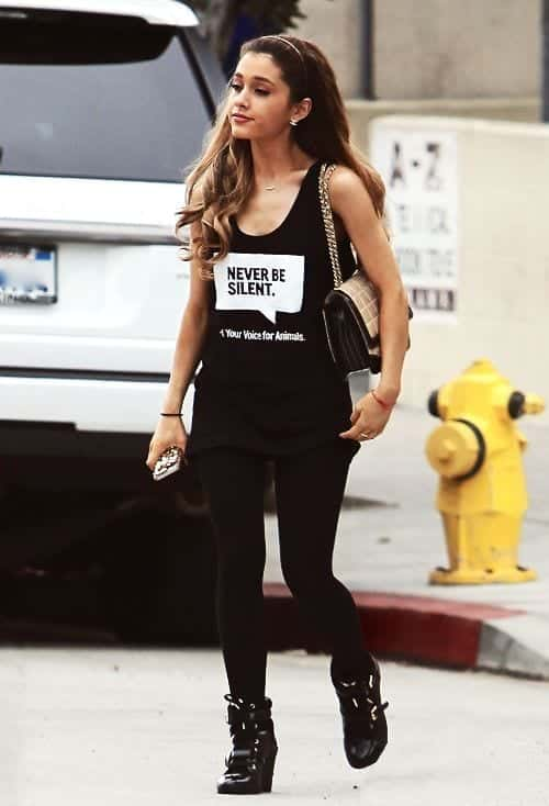 603d7af9ac43b464d1945b25ae2fd1ae 20 Cutest Ariana Grande Outfit Combinations Every Girl Will Love