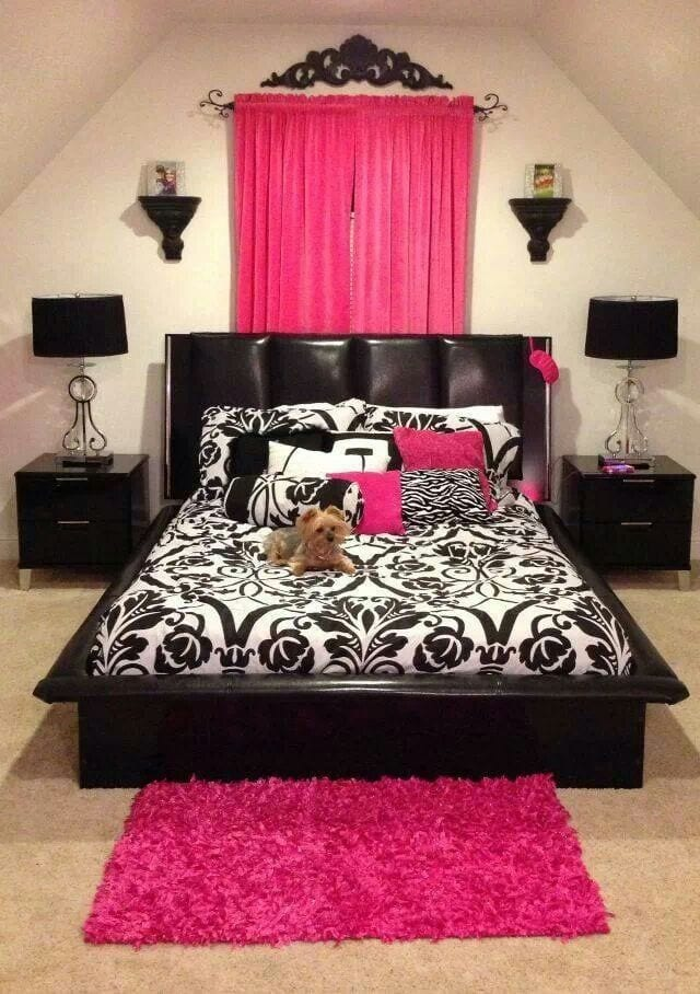 64462b0b41ec2521b9b0af1e89d8b1df 18 Cute Pink Bedroom Ideas for Teen Girls - DIY Decoration Tips