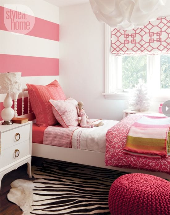 8befead9bd548f6a175db05829cb42da 18 Cute Pink Bedroom Ideas for Teen Girls - DIY Decoration Tips