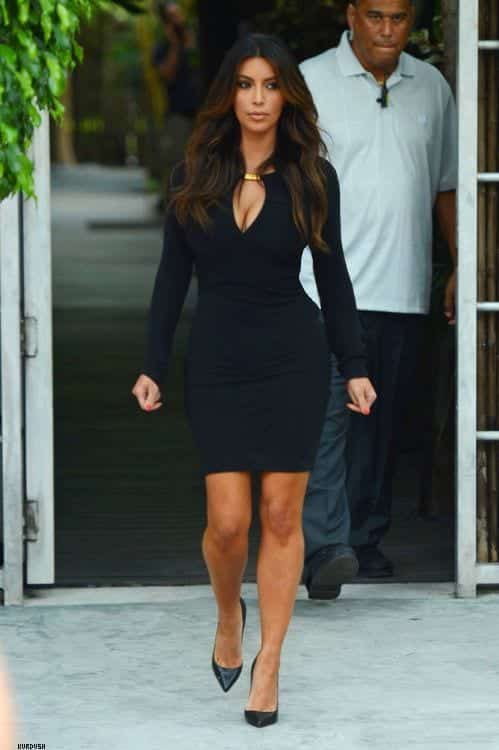 91 30 Most Stylish Kim kardashian's Outfits Rocking Social Media