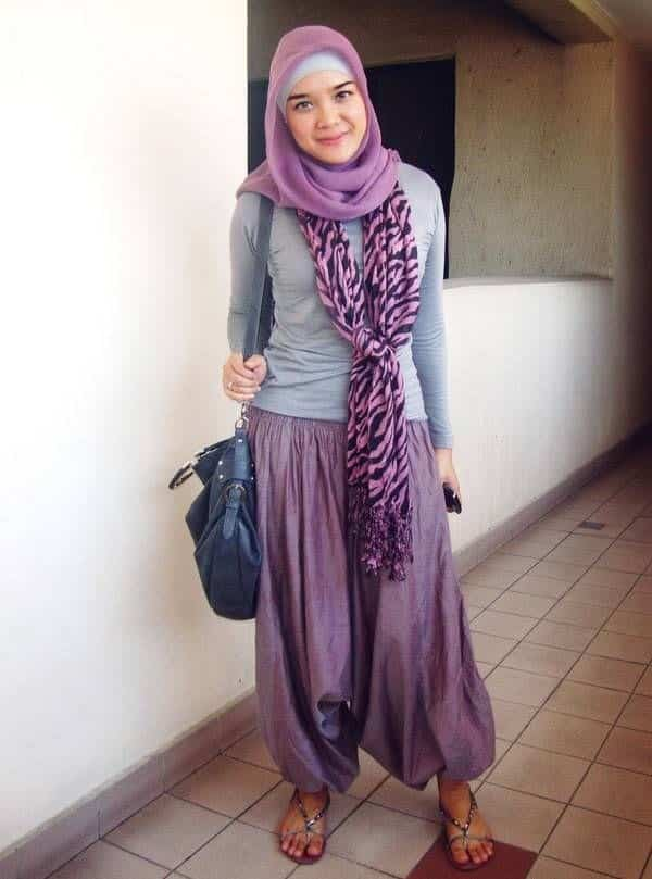 9a1c55fc6257591303669b442936a285 17 Cute Hijab Styles for Round Face With Simple Tutorials