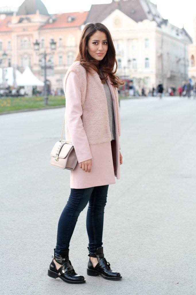 Pink-winter-outfits-683x1024 Cute Pink Outfits-20 Best Dressing Ideas with Pink Outfits
