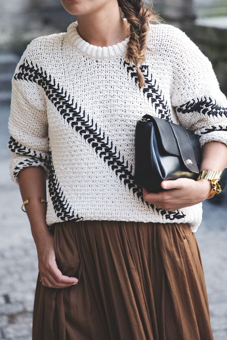 Which-Sweater-Style-Looks-Best-On-You 18 Cute Outfits to Wear With Knitwear for Girls this Winter