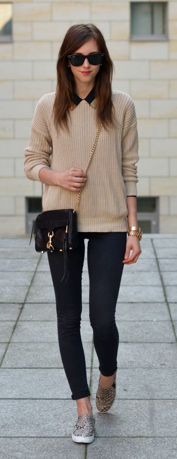 Womens-Street-Fashion-for-Fall 25 Most Popular Winter Street Style Outfit Ideas for Women