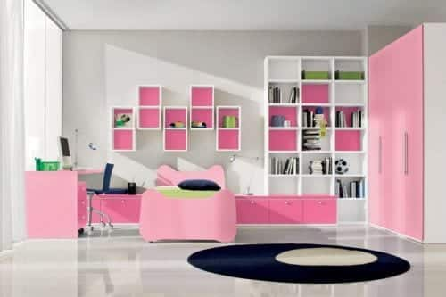 a7a0d9dc691c334ffecf1f5b8b6c2540 18 Cute Pink Bedroom Ideas for Teen Girls - DIY Decoration Tips