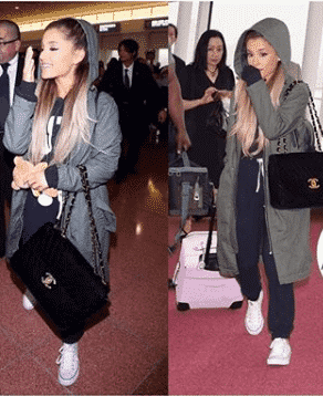 amazing-airport-style 32 Cutest Ariana Grande's Outfits That Every Girl will Love