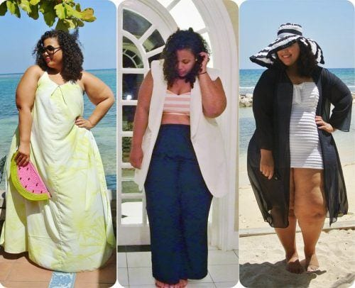 beach-outfits-plus-size-500x406 20 Gorgeous Beachwear Outfits for Plus Size Ladies This Year