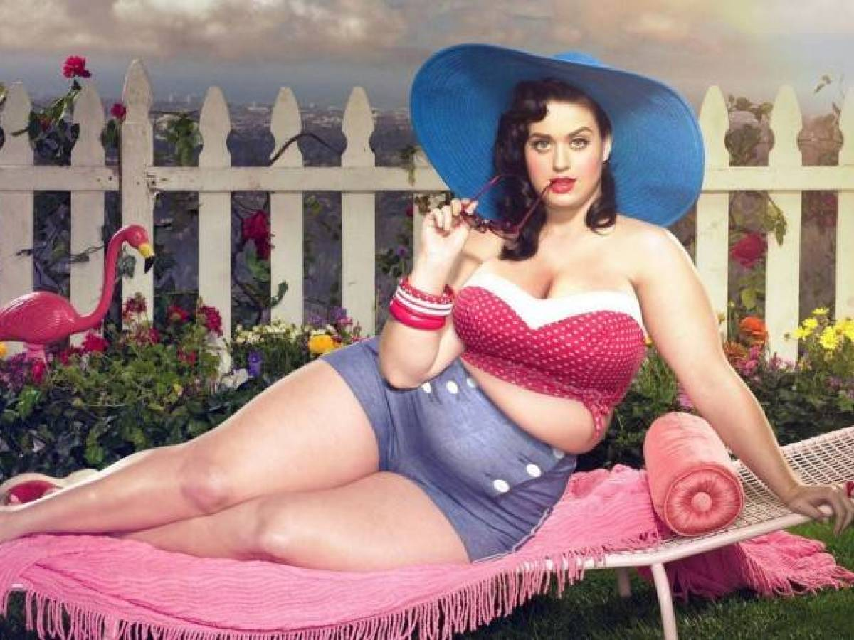 Celebrities look as plus size (17)