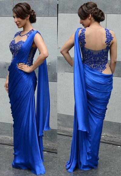 c4cb3a5bc90768a06db368410d47ffa2 Hairstyles for Saree -20 Cute Hairstyles to Wear with Saree