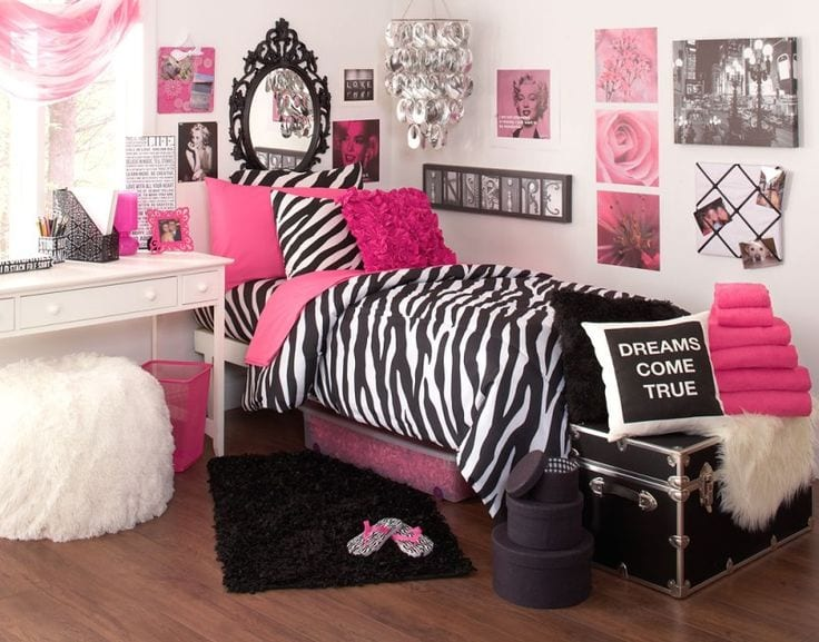 e3ac6353c9369ddd32d72179ddf0474b 18 Cute Pink Bedroom Ideas for Teen Girls - DIY Decoration Tips