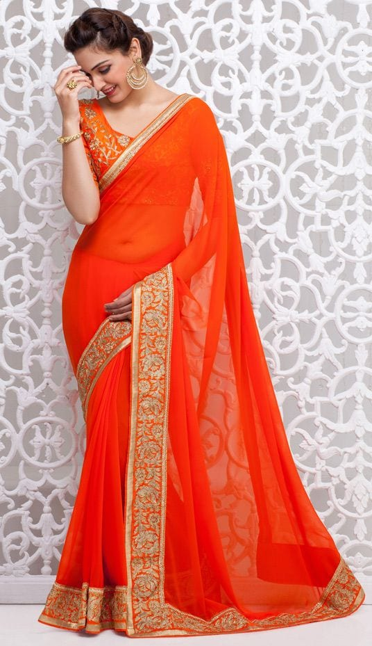 8- Saree with Short Hairstyle. ec62732bab90f1632ba16751927d4c4e Hairstyles ...