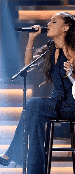 jumpsuit 32 Cutest Ariana Grande's Outfits That Every Girl will Love