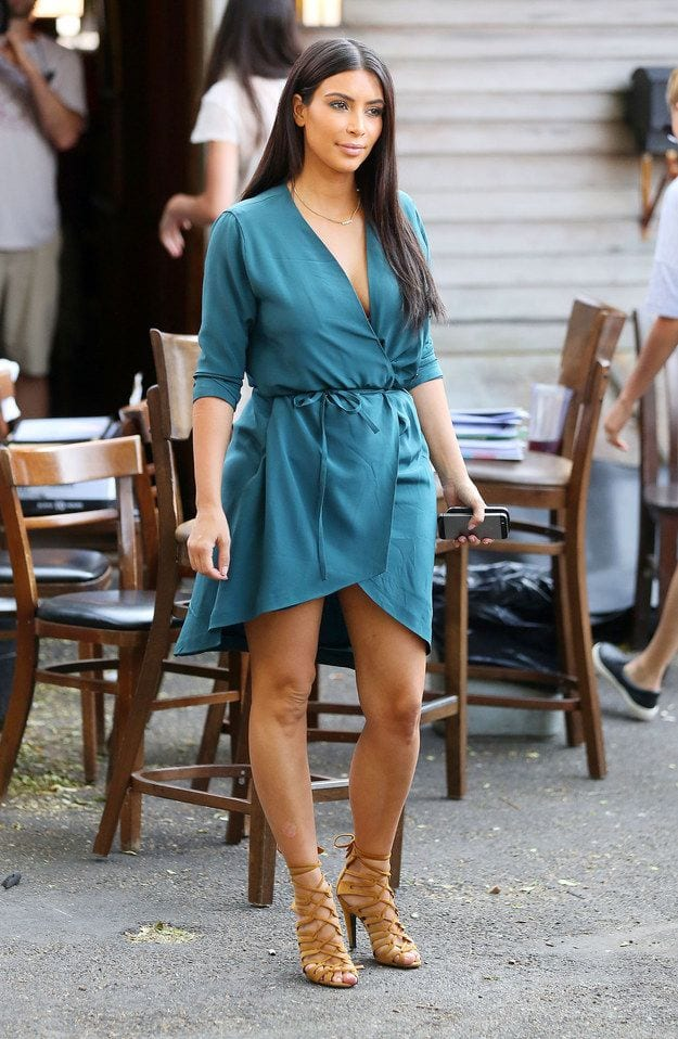 kim-kardashian-summer-outfits 30 Most Stylish Kim kardashian's Outfits Rocking Social Media