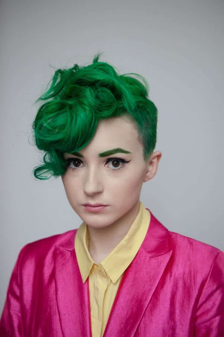 haircut styles girls green hairstyles these 23 shades of green hairs you 5663 | 42fa7771f3a22ece98be6ca1fd2fdf93