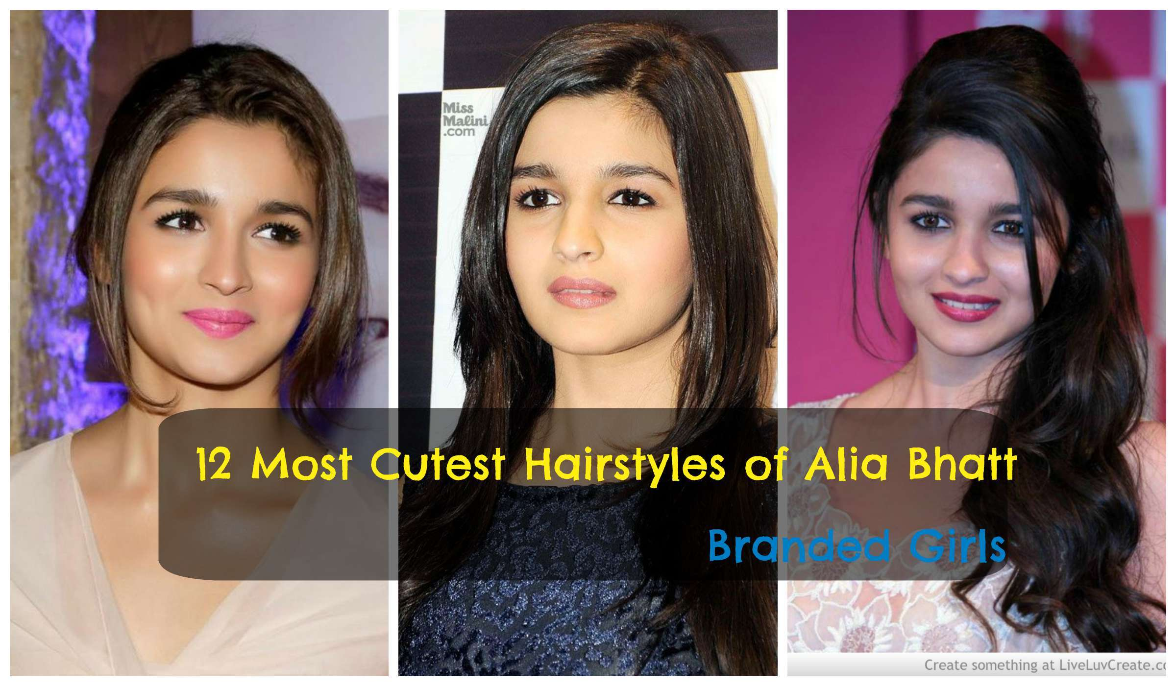 Latest Hairstyles Alia Bhatt