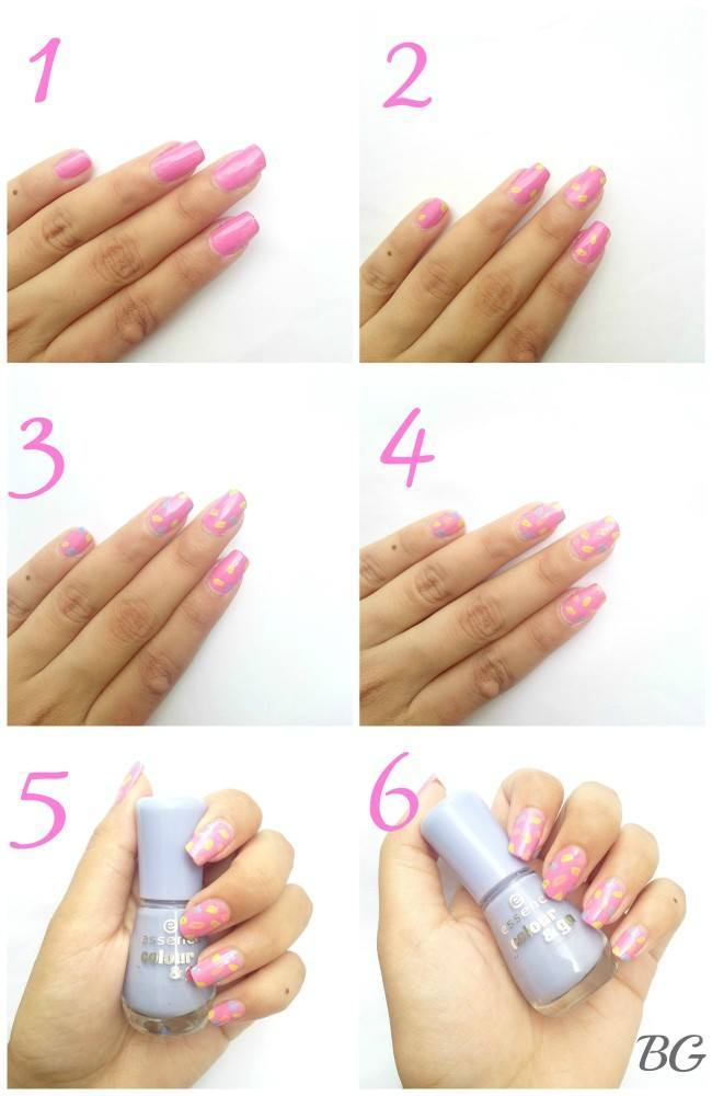 Nail-Art-Tutorial-summer-confetti-FULL1-e1439054382377 Quick DIY Summer Nail Art Tutorial - Confetti Nail Design