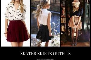 Skater Skirts Outfits 20 Ways to Wear Skater Skirts In 2021