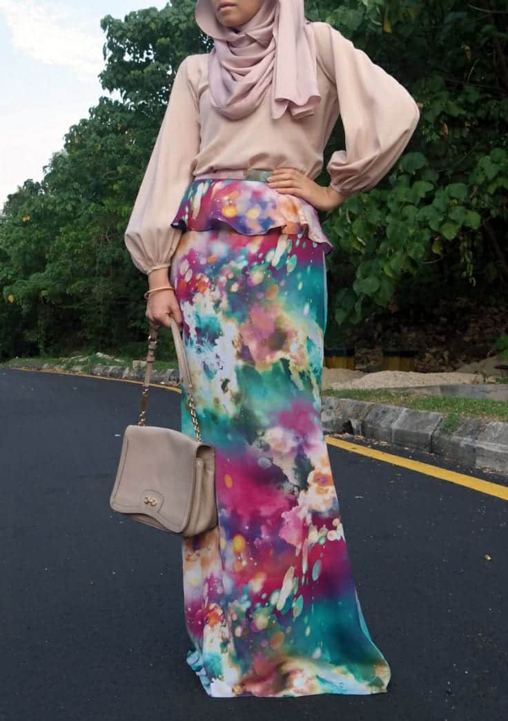 ae4c5333374e4f4a02aec749c934df74 Hijab Skirt outfits-24 Modest Ways to Wear Hijab with Skirts