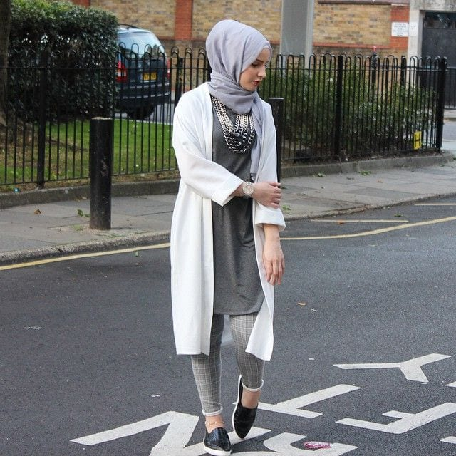 10 popular hijab fashion instagram accounts to follow this year Fashion style girl hiver 2015