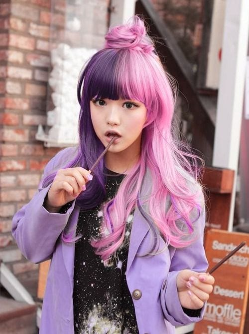 barbie-dol-hairstyle Purple Hairstyles- These 50 Cute Purple Shade Hairstyles You Cant Resist Trying