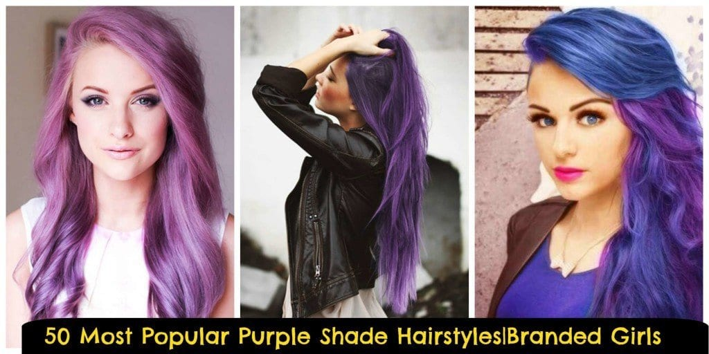 different-hairstyles-in-Purple-shades-1024x512 Purple Hairstyles- These 50 Cute Purple Shade Hairstyles You Cant Resist Trying