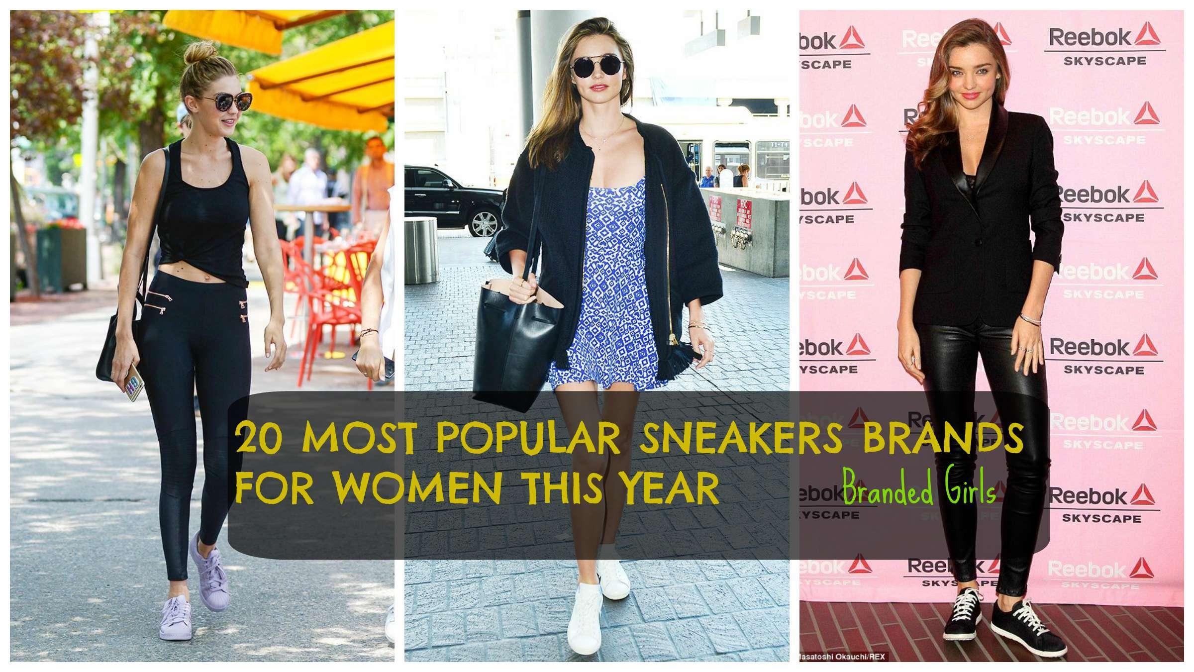 top sneakers brands for women