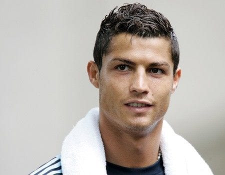 Cristiano-Ronaldo-Hairstyle-and-Haircut-2013-03 Cristiano Ronaldo Hairstyles-20 Most Popular Hair Cuts Pics