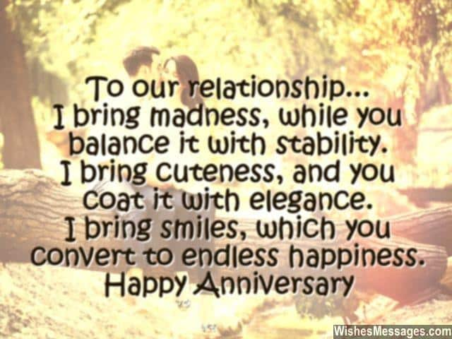 20 sweet wedding anniversary quotes for husband he will love m4hsunfo