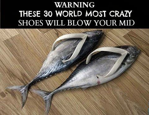 Unique-Fish-Shoes These 30 World Most Unique and Crazy Shoes Will Blow Your Mind