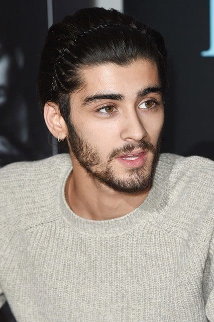 Zayn-Malik11_2014-zig-zag-hair-_glamour_15dec14_rex_b_426x639 Zayn Malik Hairstyles-20 Best Hairstyles of Zayn Malik All the Time