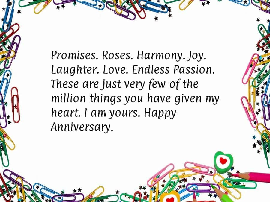 anniversary-quotes-for-husband 20 Sweet Wedding Anniversary Quotes for Husband He will Love