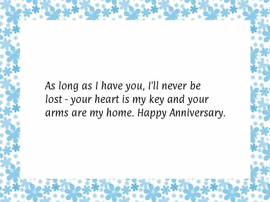 as-long-as-i-have-you 20 Sweet Wedding Anniversary Quotes for Husband He will Love