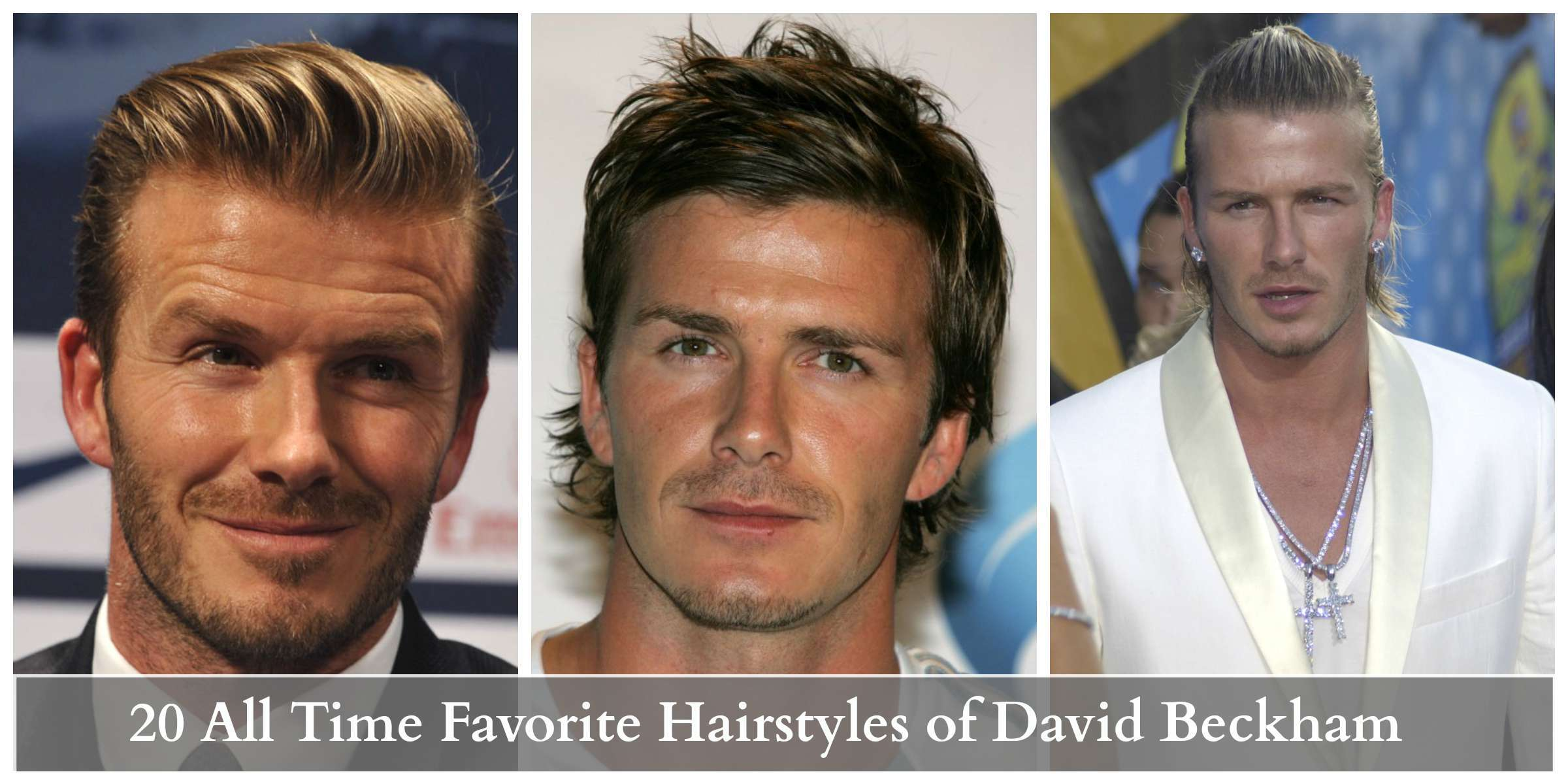 david beckham hottest hairstyles