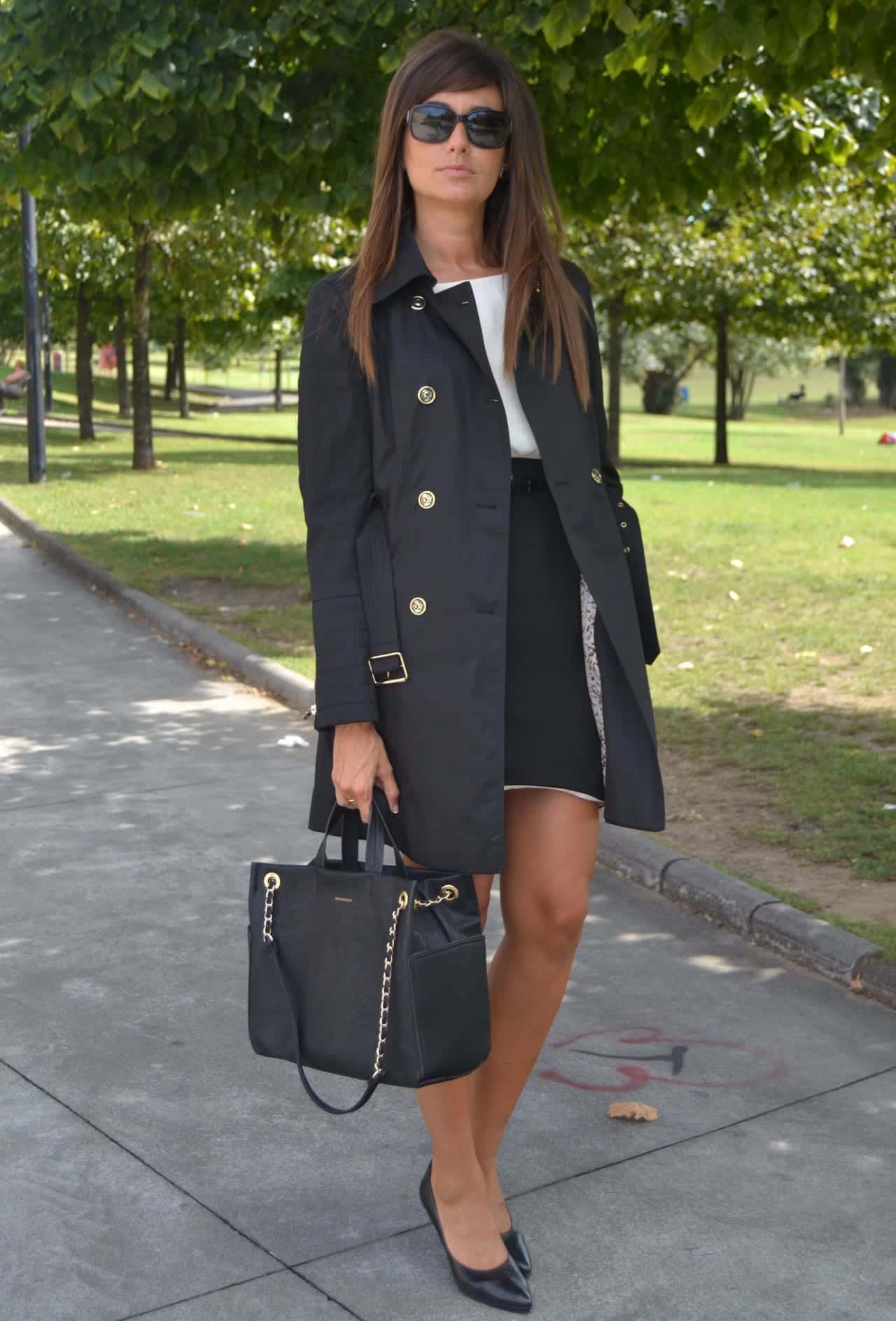 how-to-wear-long-coat-at-office Fashionable Business Attire-15 Casual Work Outfits for Women