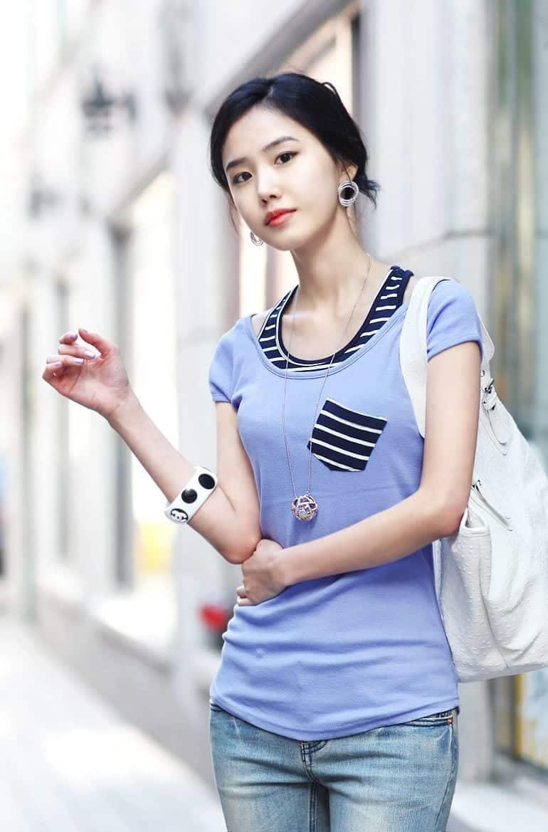 Korean Women Fashion - 18 Cute Korean Girl Clothing Styles