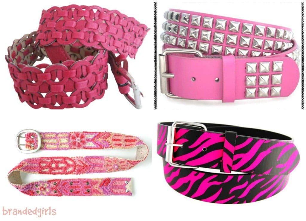 pink-belts-for-ladies-1024x739 15 Cute Pink Accessories Every Teen Girl Needs To have These Days