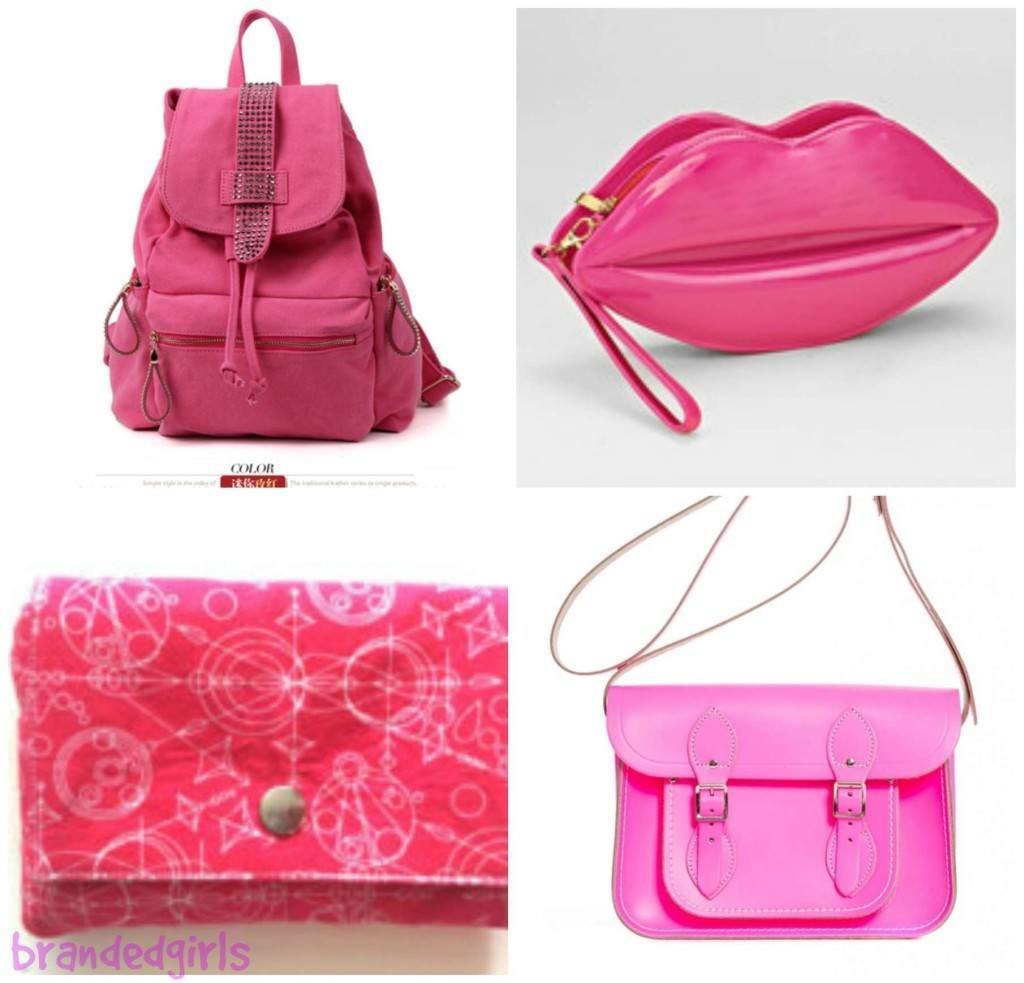 pink-handbags-1024x983 15 Cute Pink Accessories Every Teen Girl Needs To have These Days