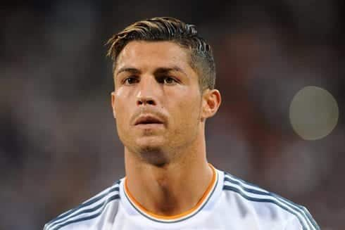 ronaldo1 Cristiano Ronaldo Hairstyles-20 Most Popular Hair Cuts Pics