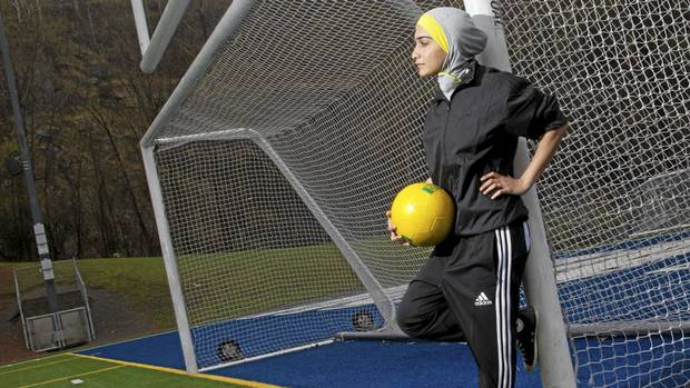 106 Sporty Look with Hijab-14 Modest Hijab Sports Outfits Combinations